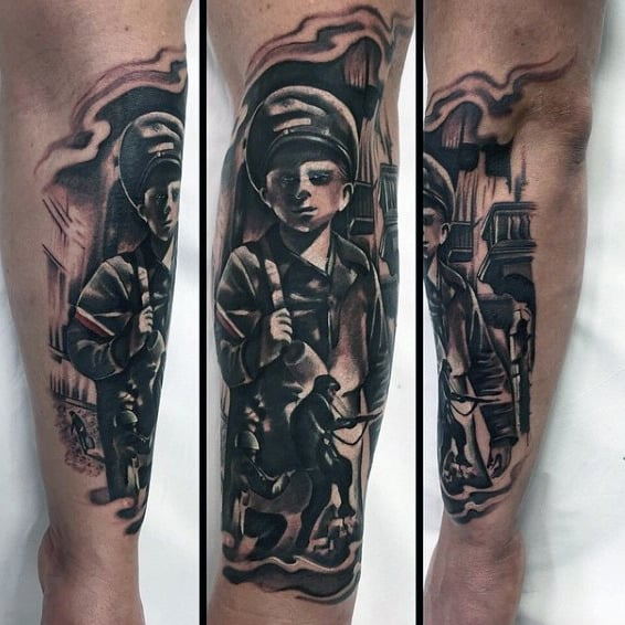 Military Skull Tattoos For Men