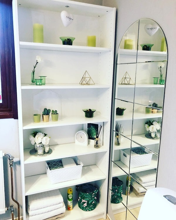 Mini Cactus Plants Bathroom Shelving Unit Dezishem