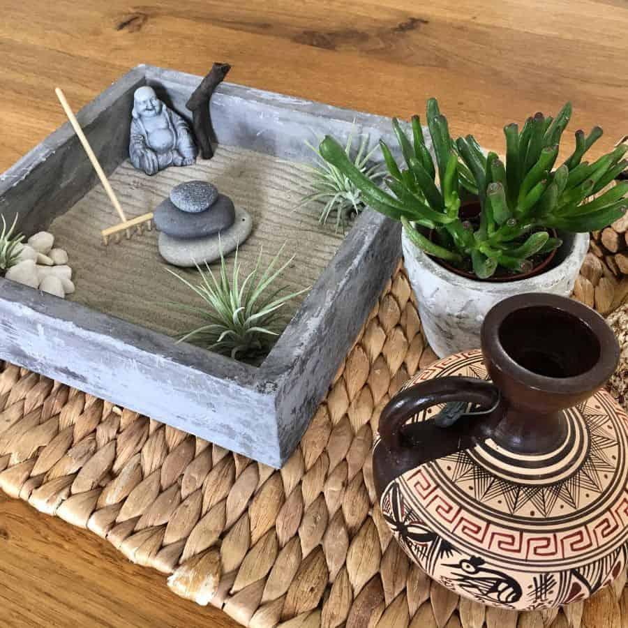 mini zen garden ideas smallspacebigpassion