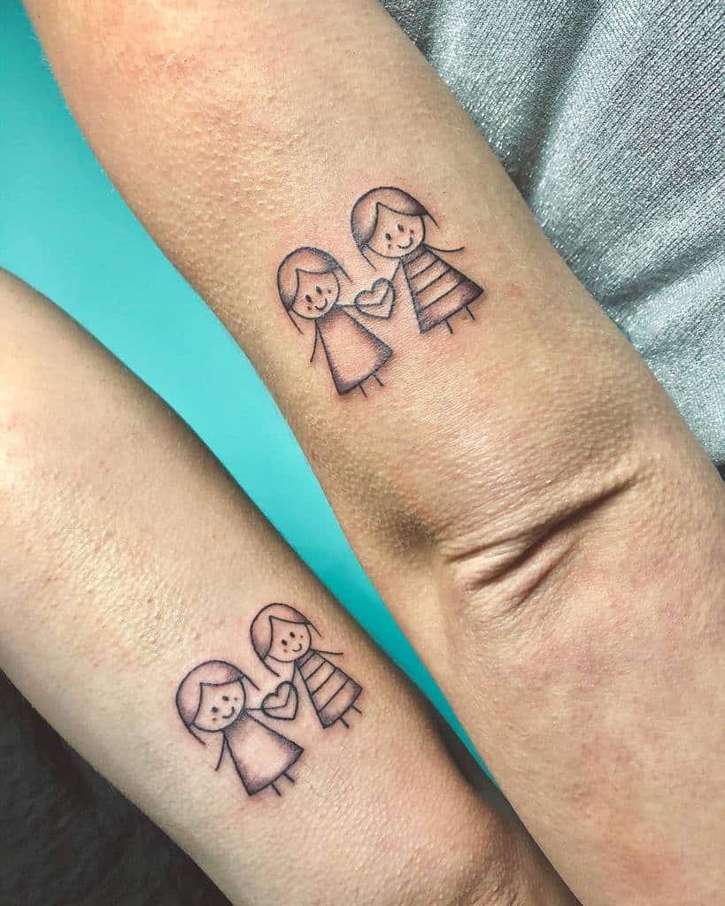minimal-inked-sister-tattoo-vidalocatattoos