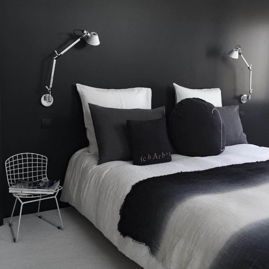 minimalist black and white bedroom ideas anneatelierm59