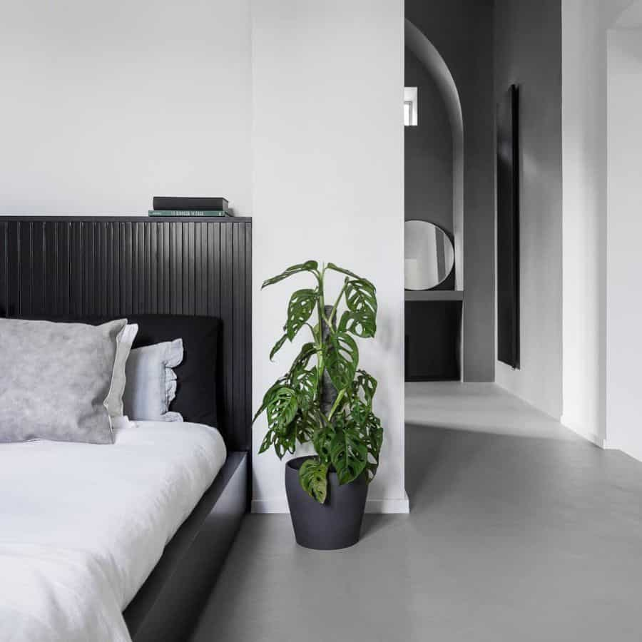 minimalist black and white bedroom ideas mymodernduplex