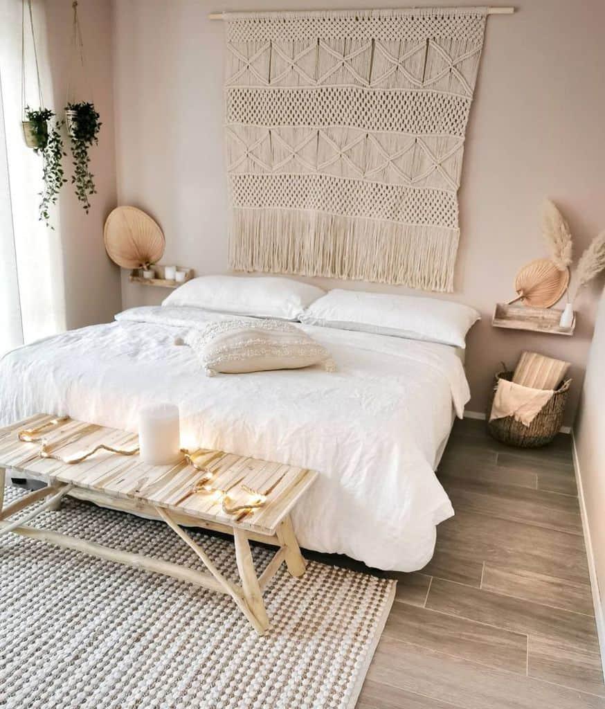 minimalist boho bedroom ideas soodecoo