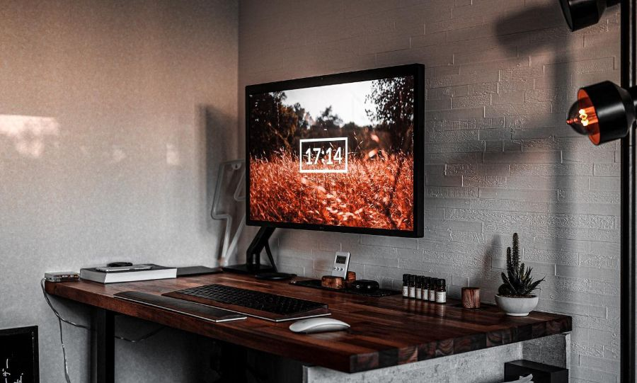 minimalist desk setup ideas atsuya__n