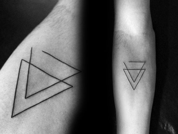 Minimalist Different Tattoo Styles On Body