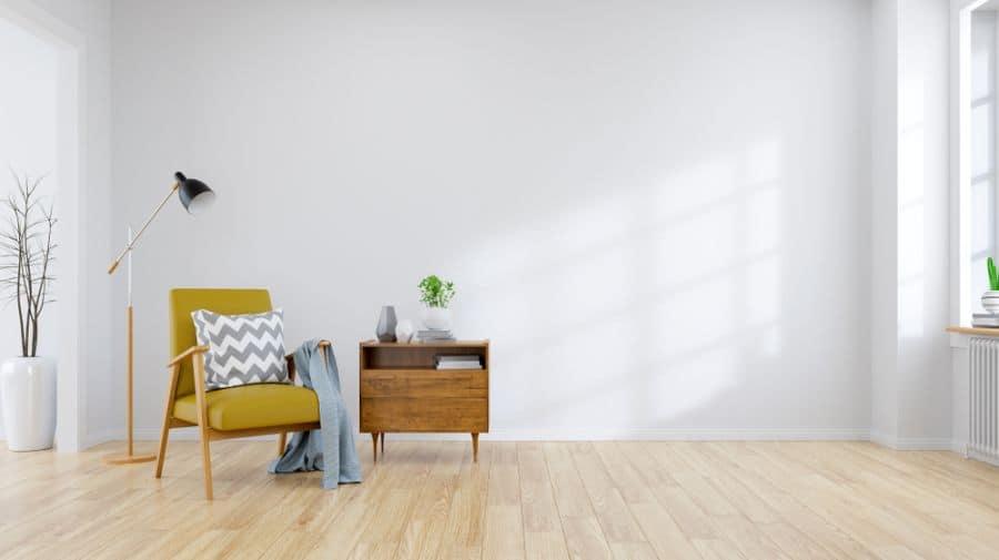 Minimalist Interior Of Living Room 1
