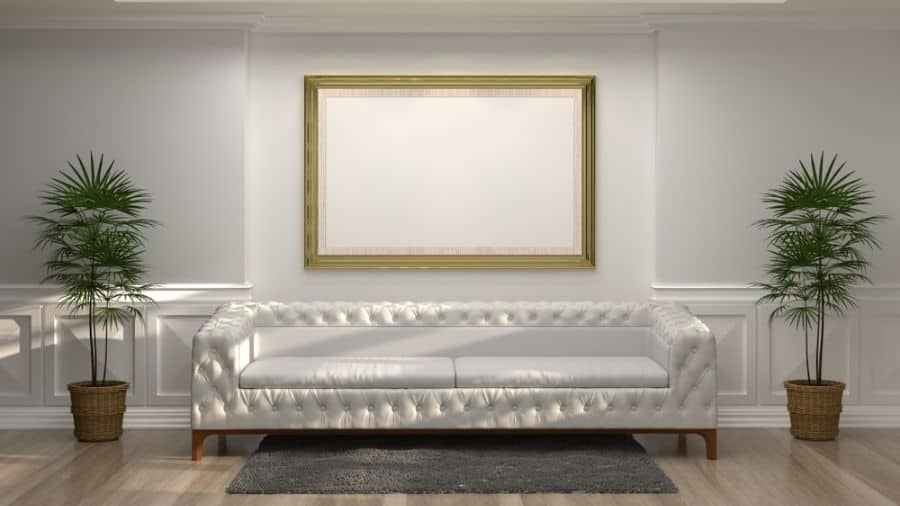 Minimalist Interior Of Living Room 10