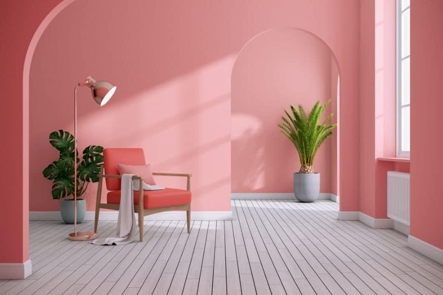 Minimalist Interior Of Living Room 4