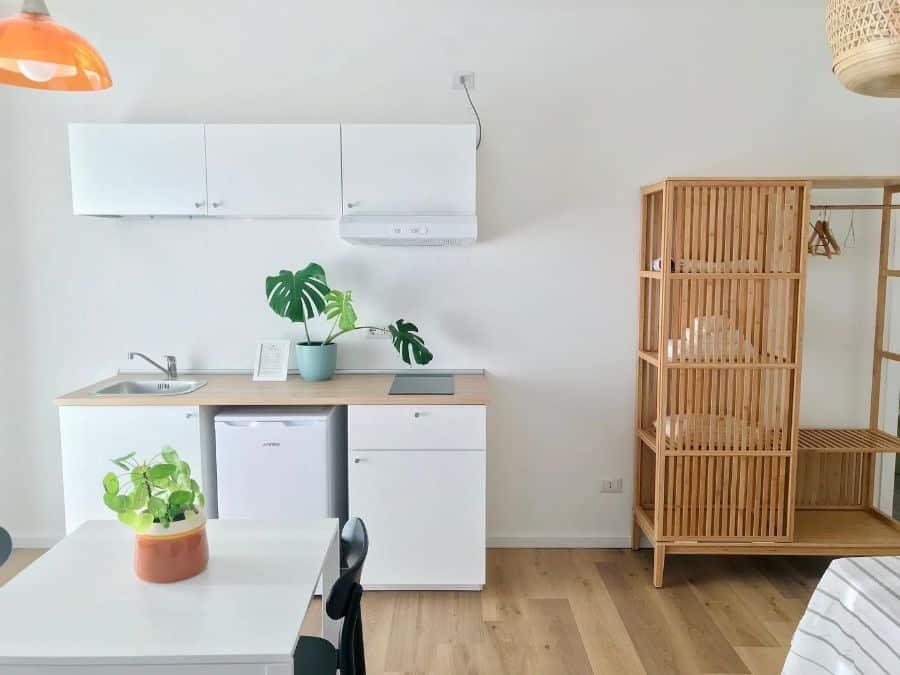 minimalist kitchenette ideas botanea_guesthouse