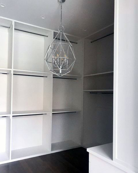 Minimalistic Cool Closet Lighting