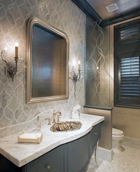 unique basin vanity bathroom decor ideas