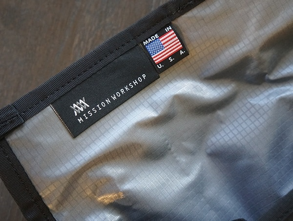 Mission Workshop Made In The Usa Weatherproof Backpacks Detail