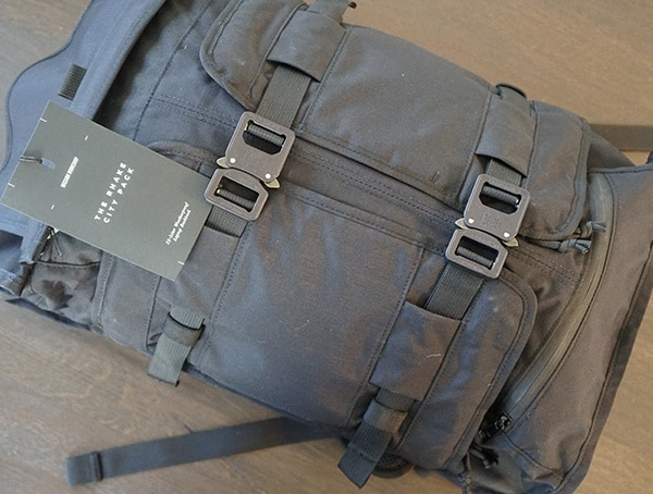 Mission Workshop The Rhake Laptop Backpack Front With Ht500 Fabric