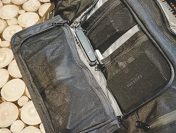 Mission Workshop The Rhake Laptop Backpack Interior Pocket With Mesh Panels