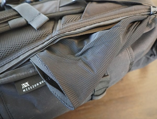 Mission Workshop The Rhake Mesh Concealable Hidden Mesh Pocket