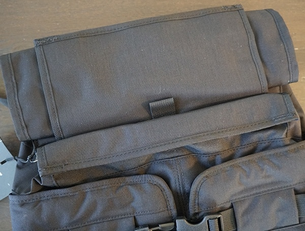 Mission Workshop The Rhake Top Backpack Compartments Closed