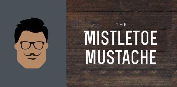 Mistletoe Mustache Styles