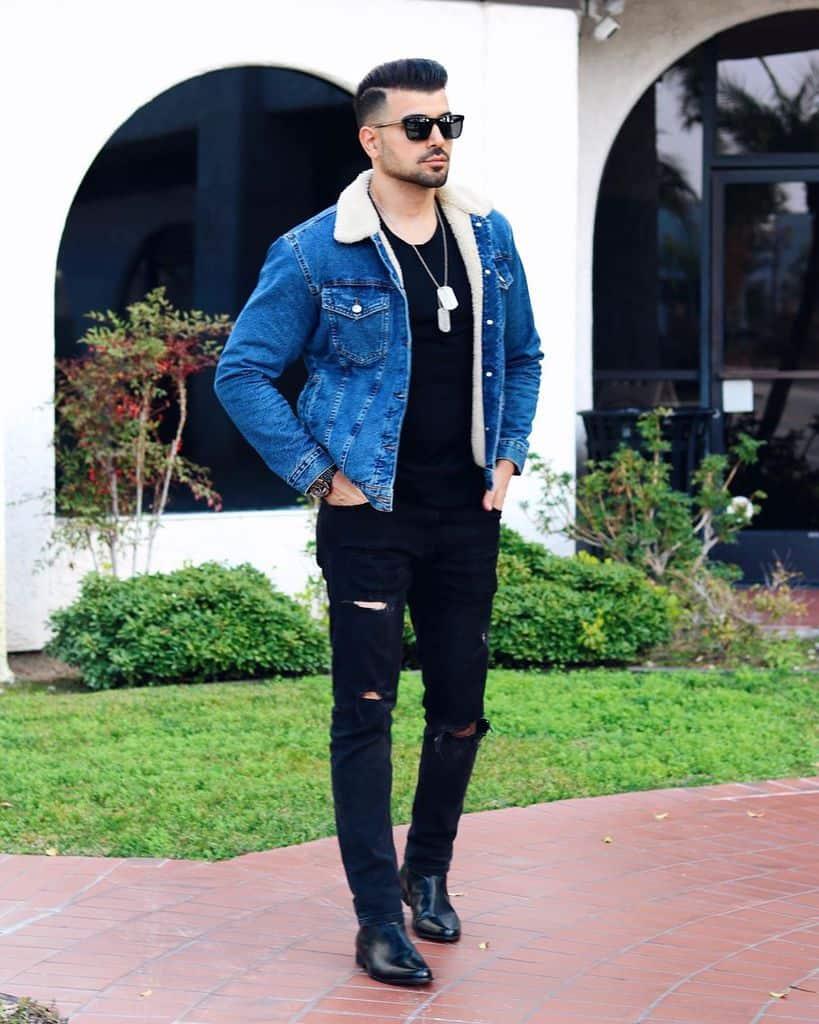 Model Denim Club Outfit