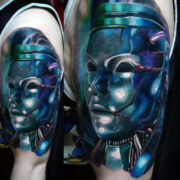 modern 3d realistic final fantasy mens arm tattoos