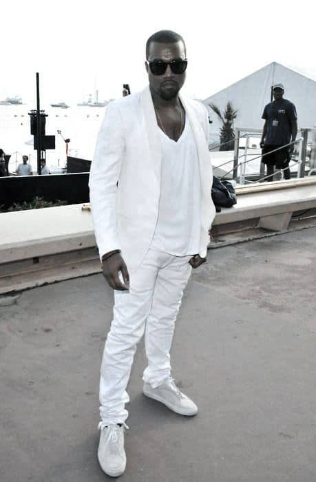 Modern All White Outfits For Men