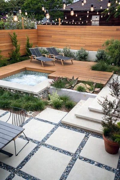 Modern Backyard Deck Ideas