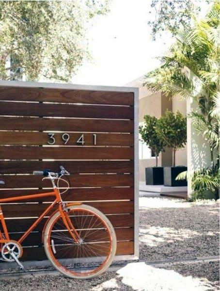 Modern Backyard Fence Styles