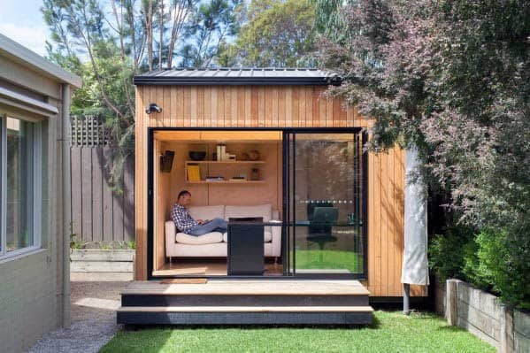 Modern Backyard Shed Ideas