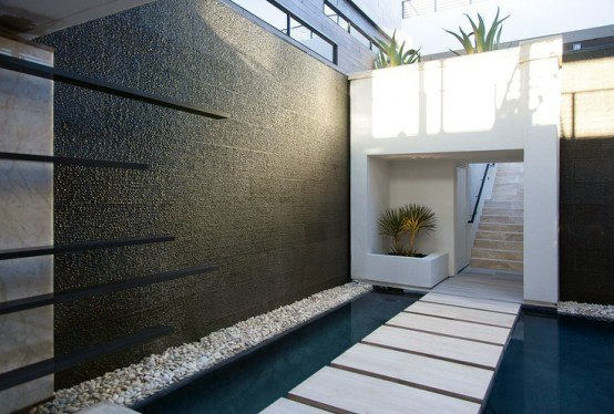 top 70 best backyard waterfalls water feature design ideasmodern backyard waterfall
