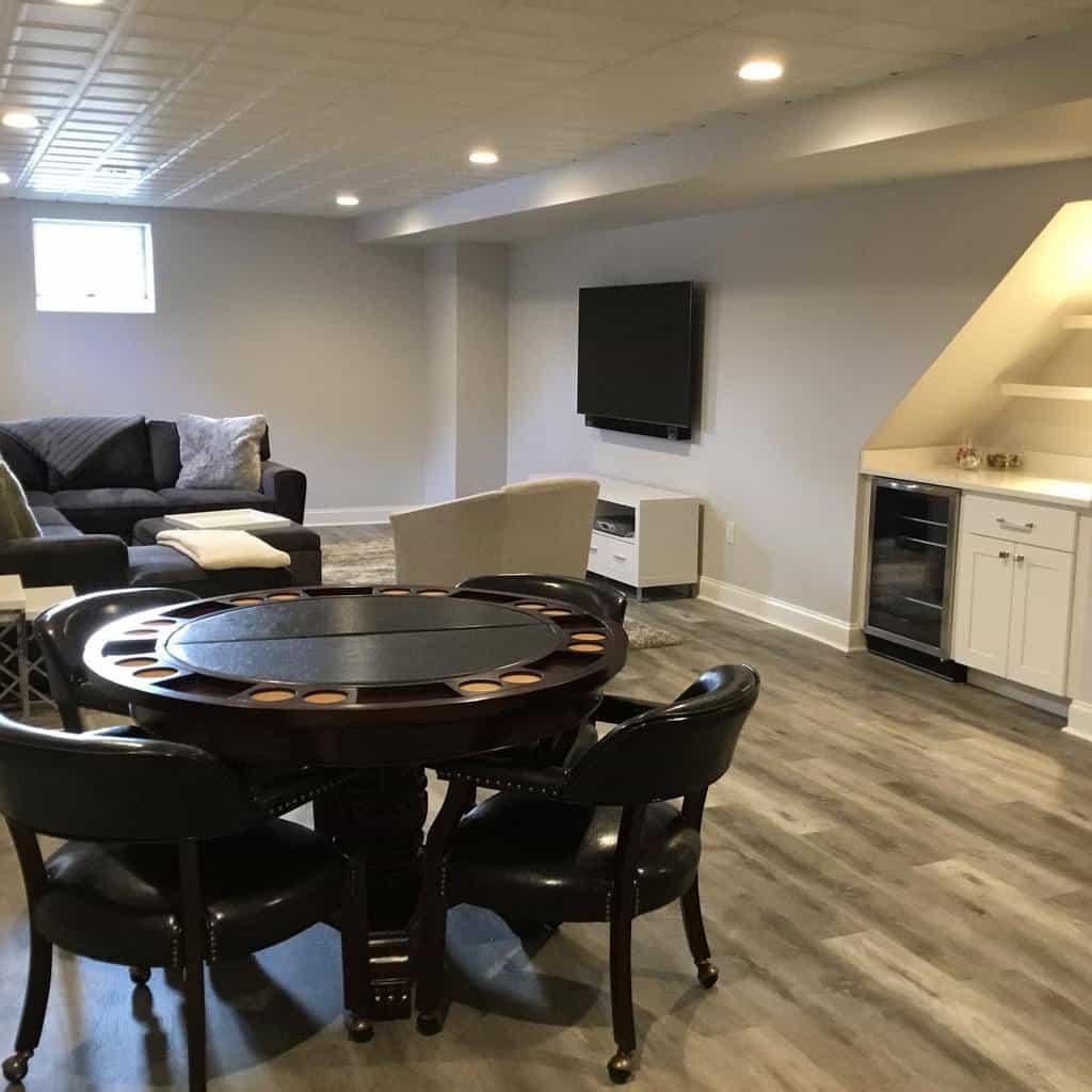 modern basement floor ideas justtherightpiece.interiors