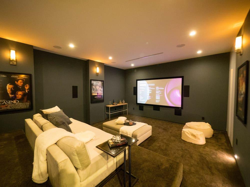 modern basement wall ideas 2