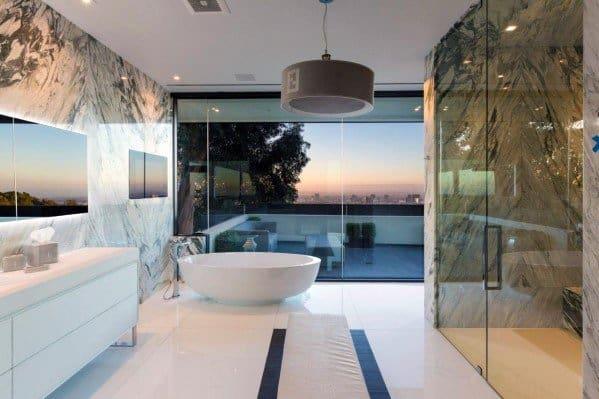 Modern Bathroom Lighting Fendi Drum Ceiling Lamp