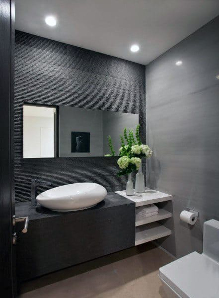guest bathroom walls ideas