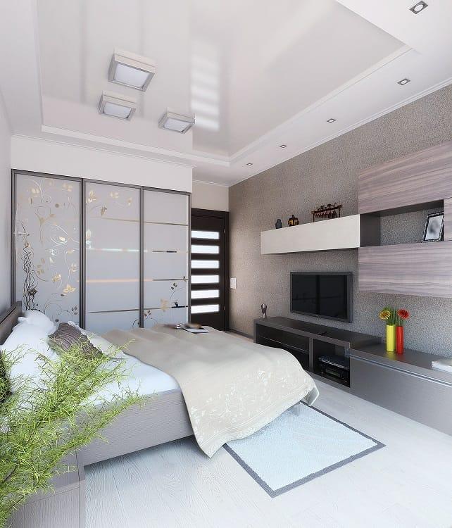 Modern Bed Room Entertainment Center