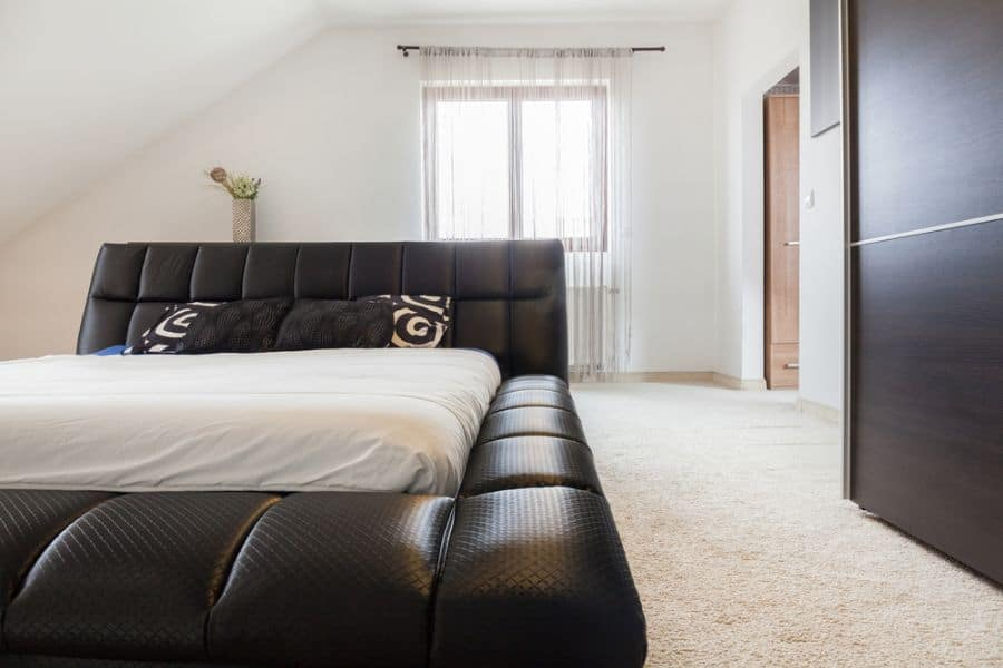 modern black and white bedroom ideas 1