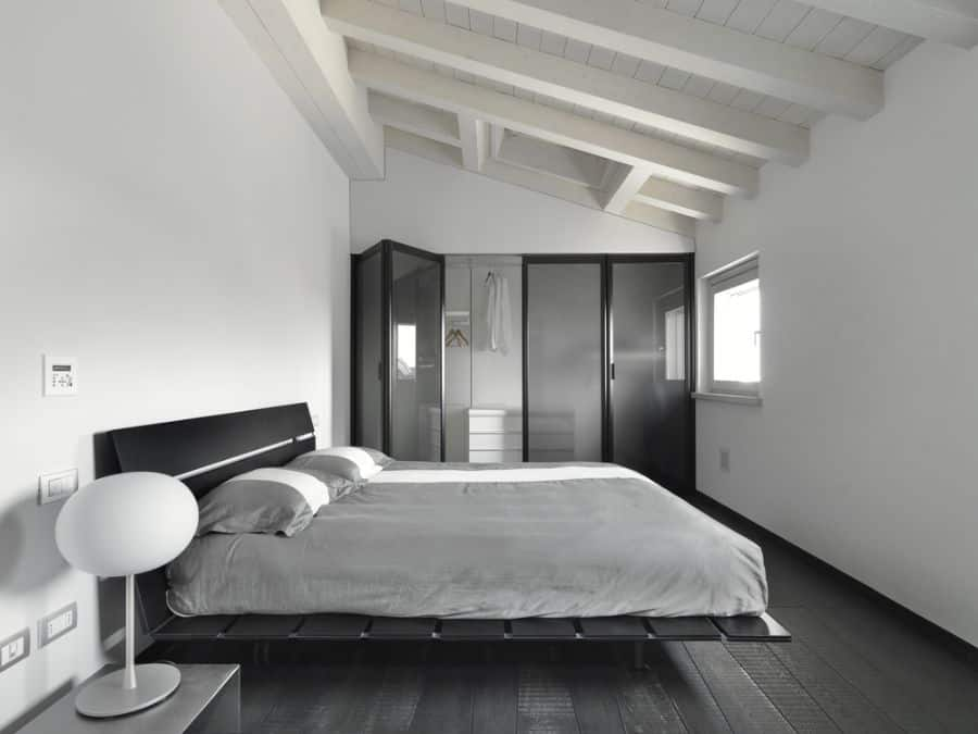 modern black and white bedroom ideas 3