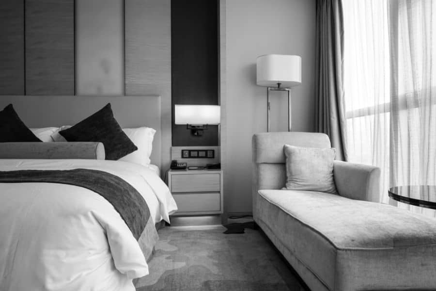 modern black and white bedroom ideas 4