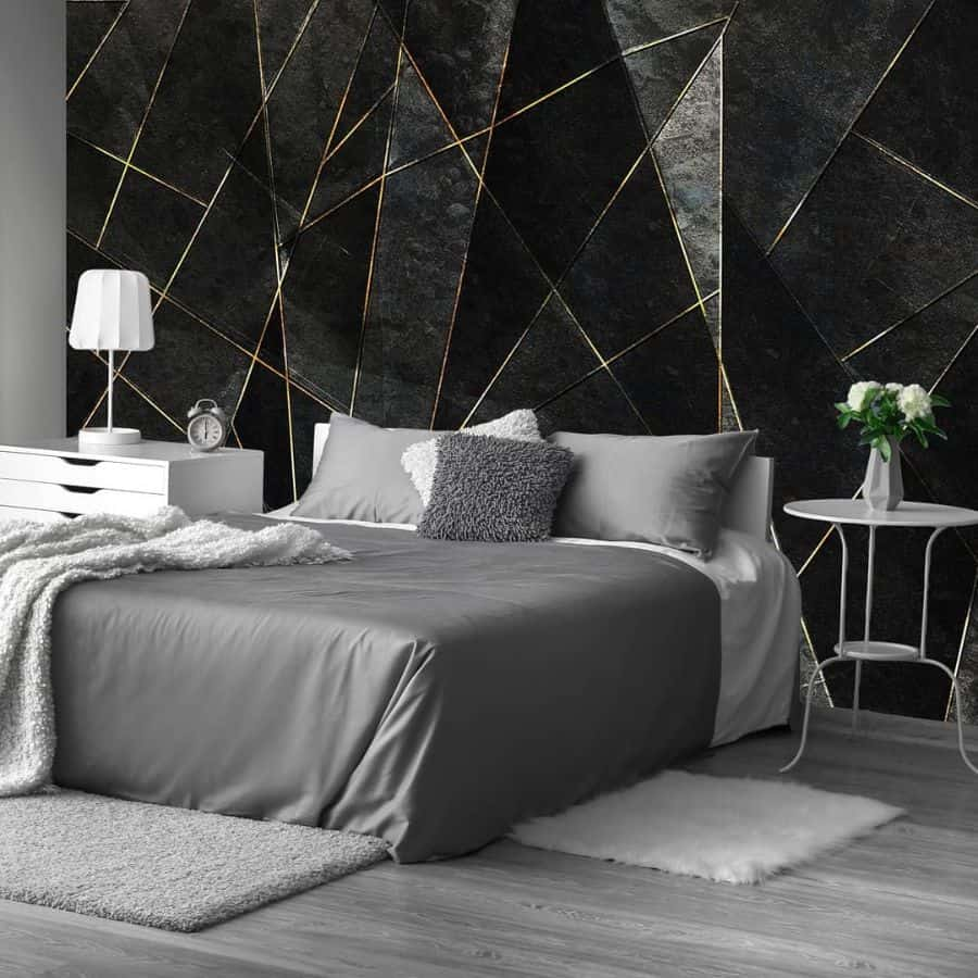 modern black and white bedroom ideas ecowalls.pl