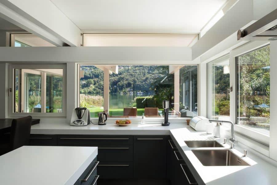 Modern Black And White Kitchen 2