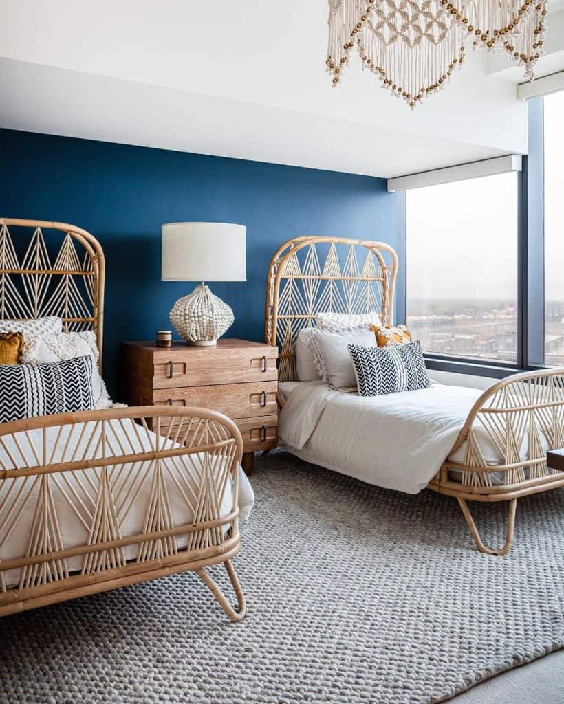 modern boho bedroom ideas nataliebachlidesign
