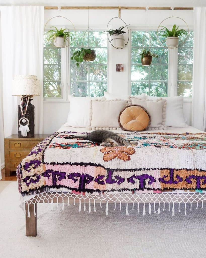 modern boho bedroom ideas skaynedesigns