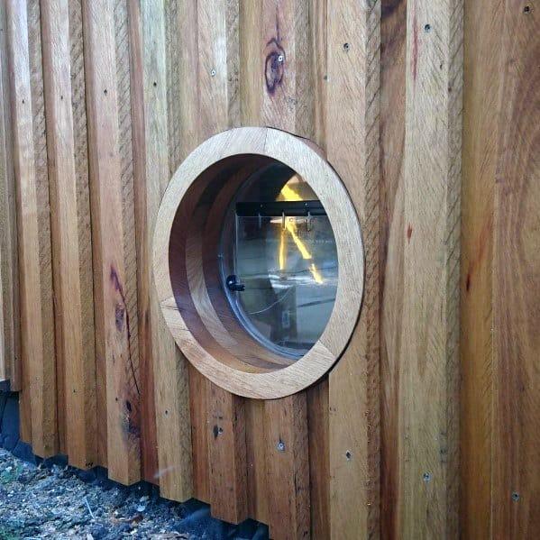 Modern Circle Home Ideas Doggy Door