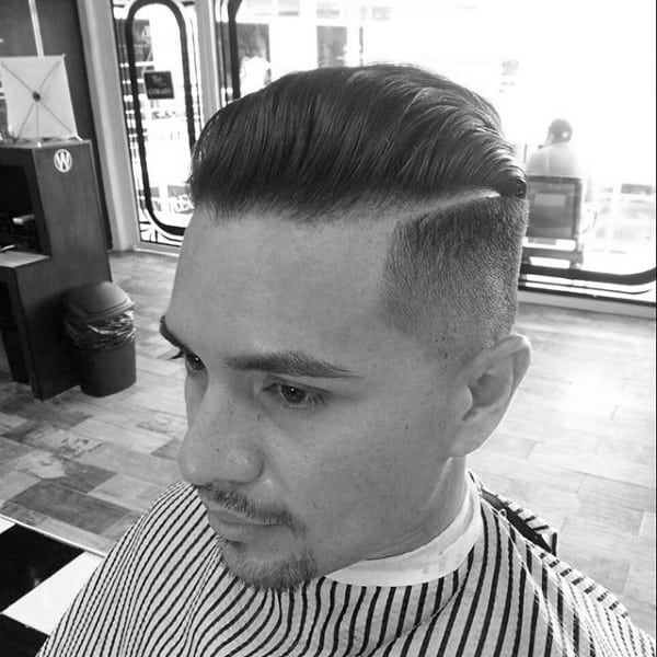 Modern Comb Over Fade Mens Haircuts