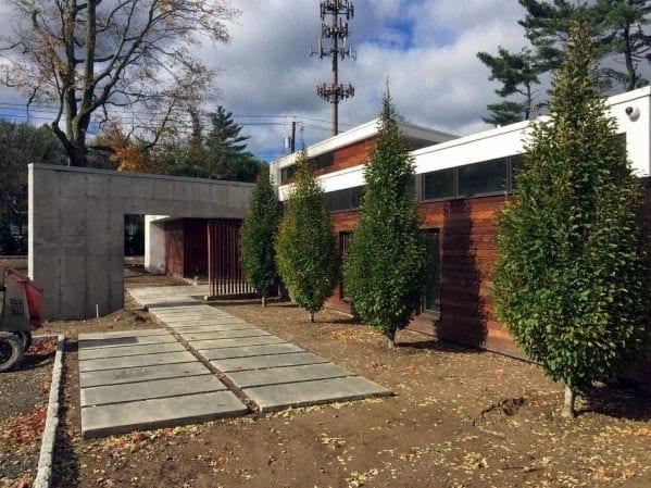 Modern Concrete Walkway Ideas Inspiration