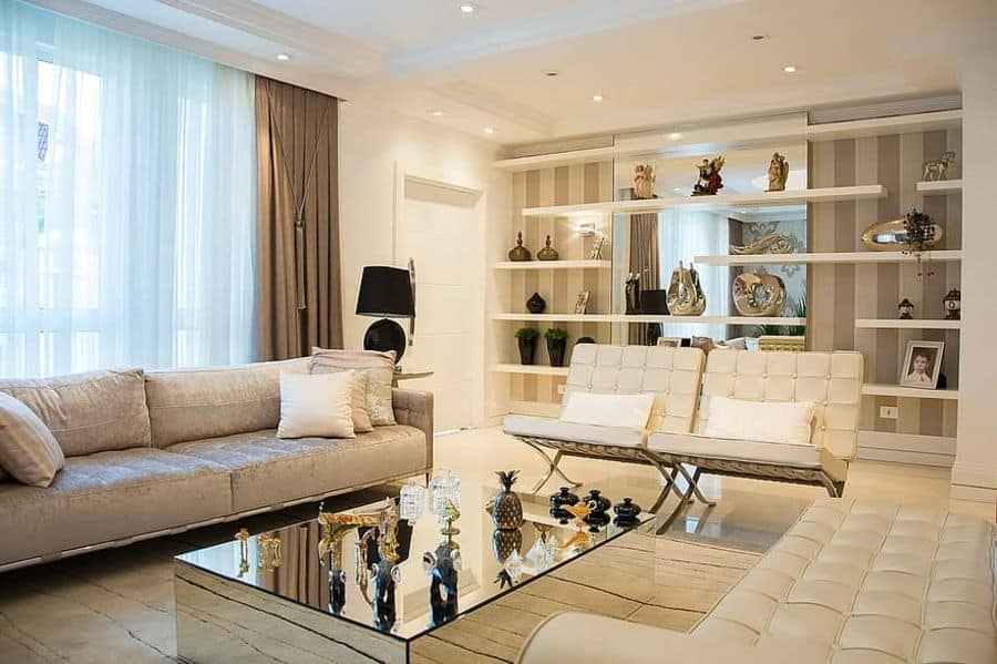 Modern Contemporary Living Room Decorating Ideas 1