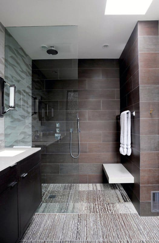 Modern Contemporary Shower Design