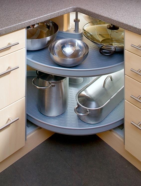 Modern Corner Kitchen Cabinet