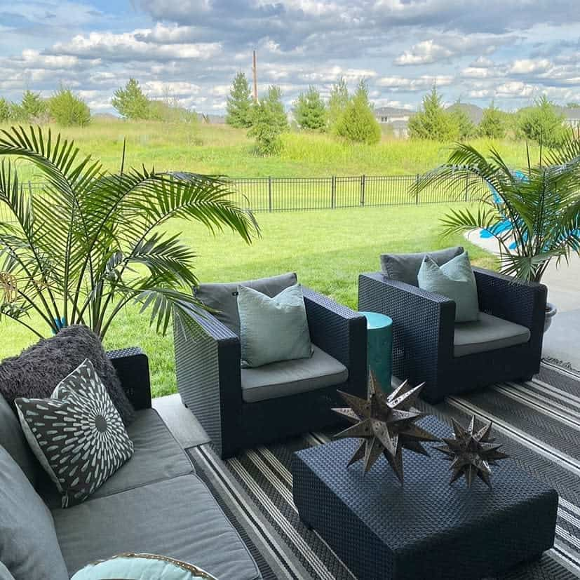 modern covered patio ideas suburbanspunk