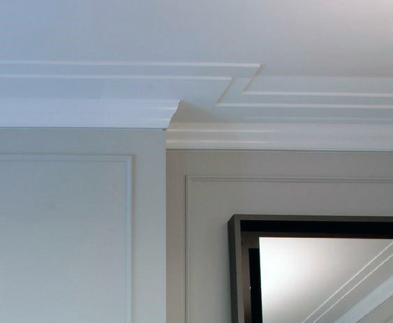 Modern Crown Molding Design Ideas