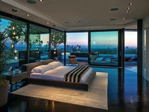 Modern Crystal Ball Bedroom Lighting Ideas