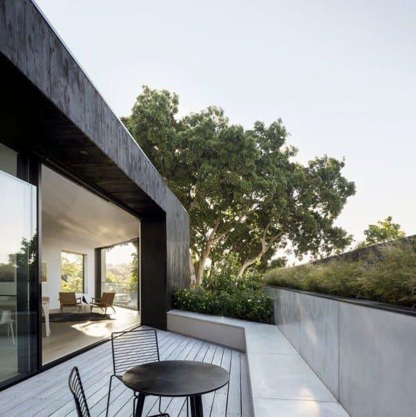 Modern Deck Backyard Design